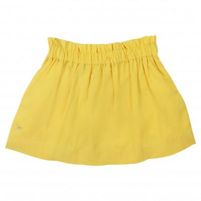 Yellow basic skirt