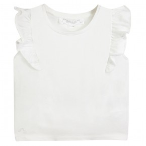 The Essentials - Flounce sleeve tee-shirt