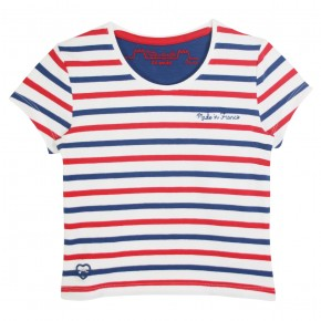 Oh la la! striped tee-shirt