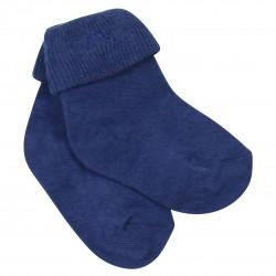 Navy Baby Socks