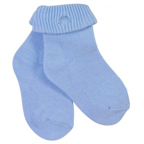 Plain baby socks