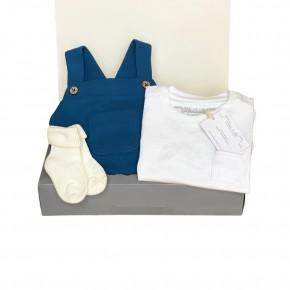 Navy Unisex Baby Set