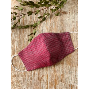 Chequered Resuable Fabric Mask - Adult in Singapore