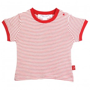 Striped Cotton Tee Shirt
