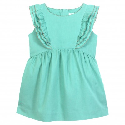 Ruffled Flounce Dress