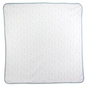 Organic Cotton Hearts Blanket