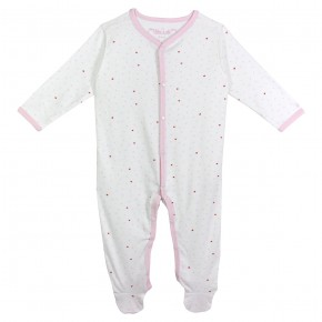 Organic Cotton Hearts Pyjamas