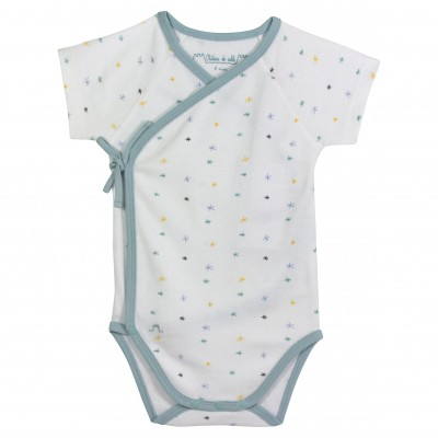 Organic Cotton Bodysuit - Stars
