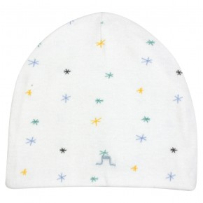 Organic Cotton Hearts Beanie