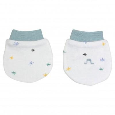 Organic Cotton Stars Mittens