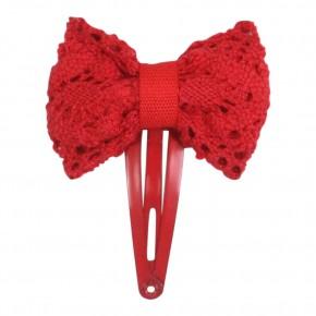 Festive Bow Hair Clip