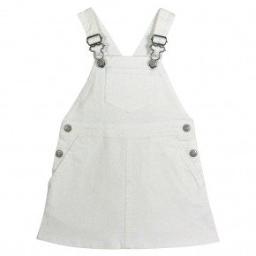 The Essentials - Denim Pinafore Dress