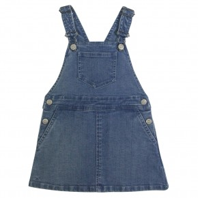 The Essentials - Denim Pinafore Dress
