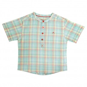 Rainbow Chequered Shirt