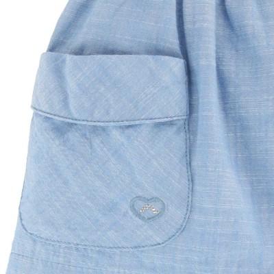 Cotton Linen Skirt