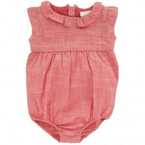 Cotton Linen Babygirl Romper