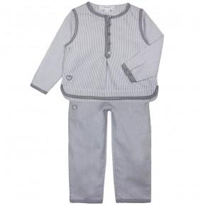Lace Trims Pyjamas Set