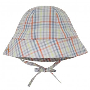 Contrasting checks Hats