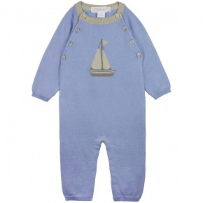 Rompersuit with Boat Motif