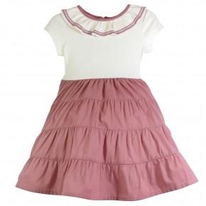Organic Cotton Glitter Dress