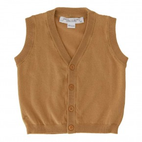 The Essentials - sleeveless cardigan