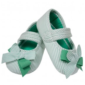 Flatiron Knot Baby Shoes