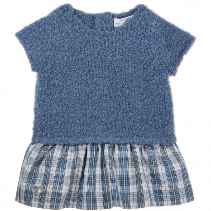 Wool knit dress - Chateau de sable