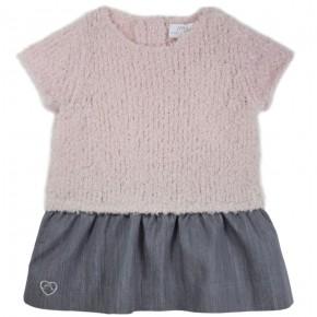 Wool knit dress