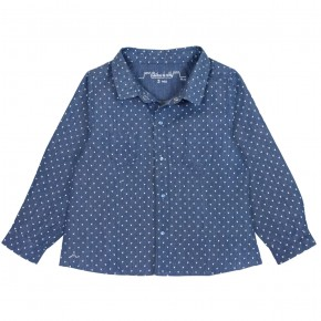Hearts printed blouse