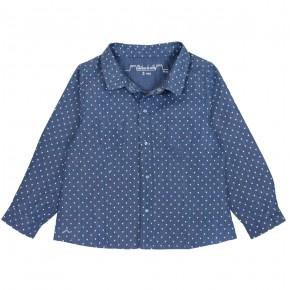 Hearts printed blouse