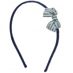 Stripes Bow Hairband