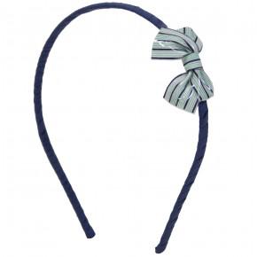 Stripes Bow Hairband