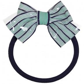 Stripes bow Hair Elastics