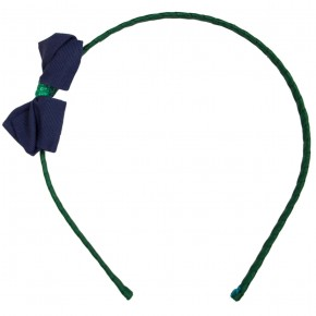 College Bow Hairband