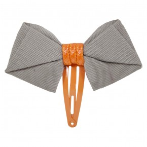 College Bow Hair Clip