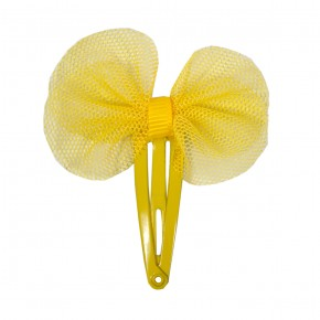 Hair Clip with Mesh Bow