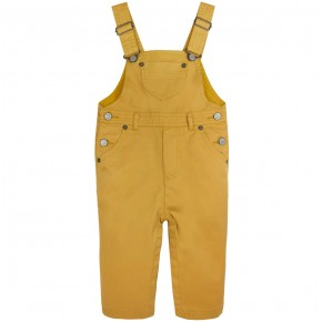 Dungarees in Mustard