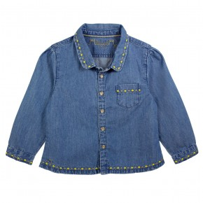 Shirt in denim