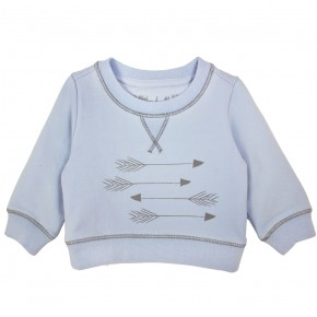 Sweater with arrows print