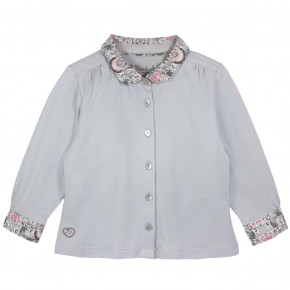 Blouse with Liberty Collar