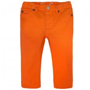 Pantalon en coton sergé