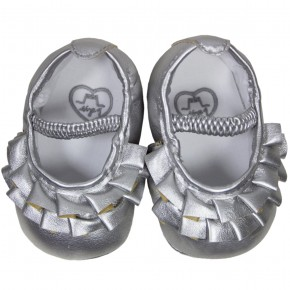 Metallic Baby Shoes