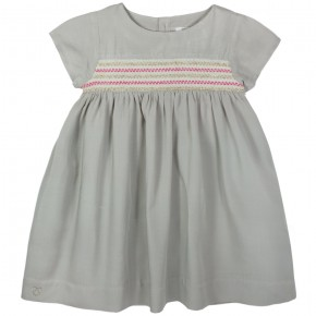 Dress with Smocking Details
