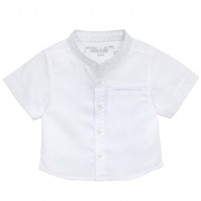 Shirt with Mao Collar