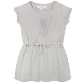Dress with Pineapple Print
