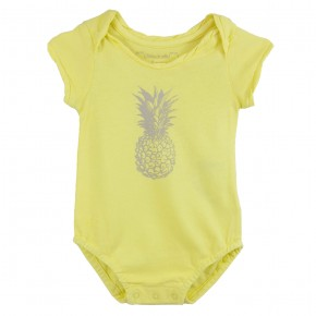 Romper with Pineapple print