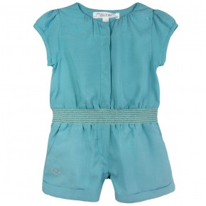 Playsuit with smocking