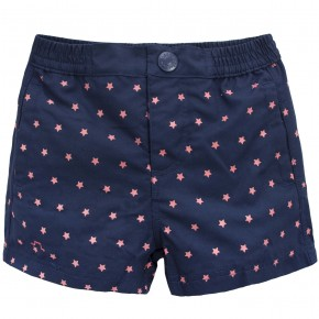 Beach shorts with star prints