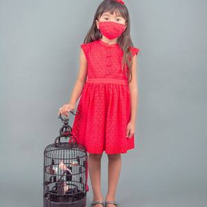 Sometimes, very soon, we will all be free as a bird to fly wherever we wish…🦅 In the meantime, let's be safe and mask on! Stylish red masks for boys and girls available online and in-store in various designs; get yours before they sell out!