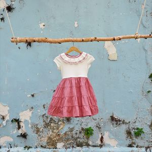 We love our ribbed organic cotton so much that we created this sweet Ballerina dress with it - extra soft cotton, a skirt made for twirling and a sparkly flounce collar, what else…